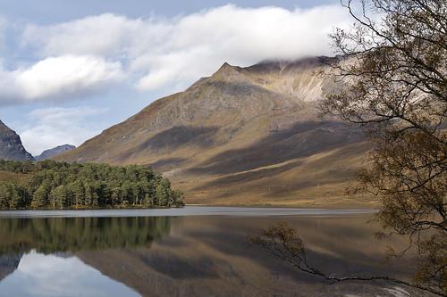 Lock Clair and Beinn Eighe, Torridon
