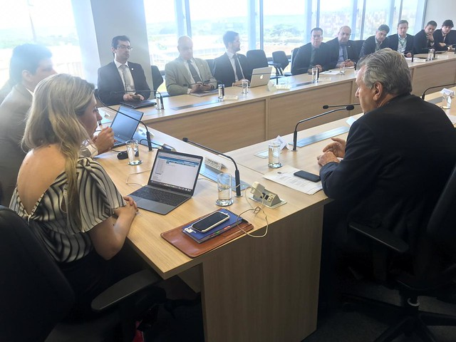 16/10/2019 Audiência Ministério da Infraestrutura - Regularização de área urbana em São Borja-RS