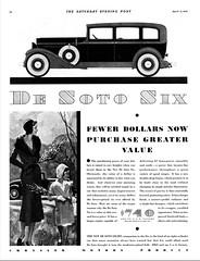 1931 DeSoto Six Four-Door Sedan