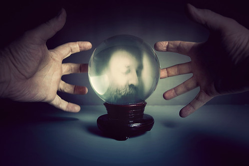 289/365n - the crystal ball sees all