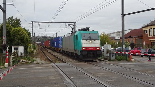 HLE RAILTRAXX TRAXX 186 216 - L154 - JAMBES