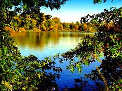 Beautiful Fall Day at the Lake