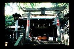 Suwa Shrine in Nishi-Nippori