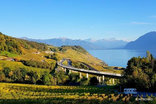 Weinbaugebiet Lavaux VD