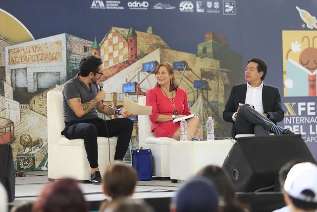 27/05/2019 Presentación de Libro Dip Tatiana Clouthier en Azcapotzaclo