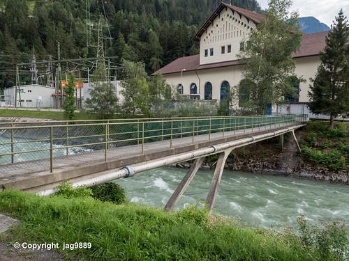 ALB630 Pedestrian Bridge over the Albula River, Scharans – Sils im Domleschg, Canton of Grisons, Switzerland