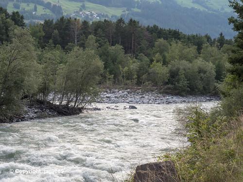 ALB660 Albula River Confluence with the Hinterrhein, Fürstenau – Thusis, Canton of Grisons, Switzerland