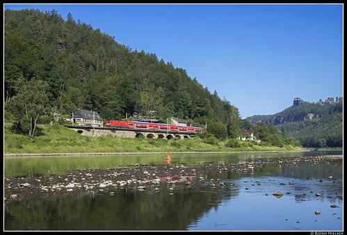 DB Regio 143 076, Schmilka-Hirschmühle (D)