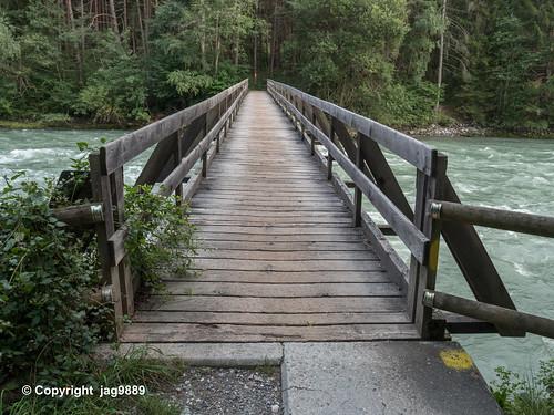 ALB650 Pedestrian Bridge over the Albula River, Scharans – Sils im Domleschg, Canton of Grisons, Switzerland