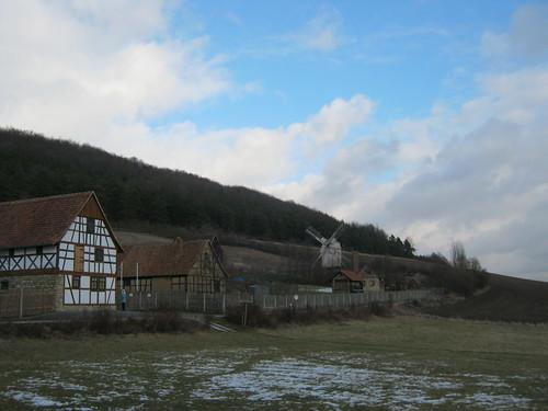 Museumsdorf Hohenfelden mit Bockwindmühle