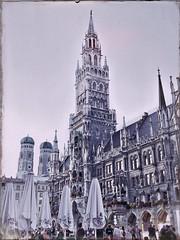 Haben die den Turm geschrubbt?