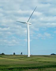 Wind turbine (Adair Wind Farm, Iowa, USA) 2
