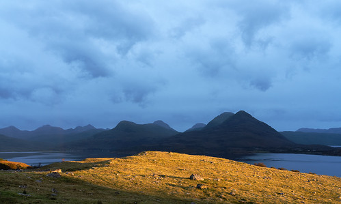 Upper Loch Torridon, Storm Light, Autumn