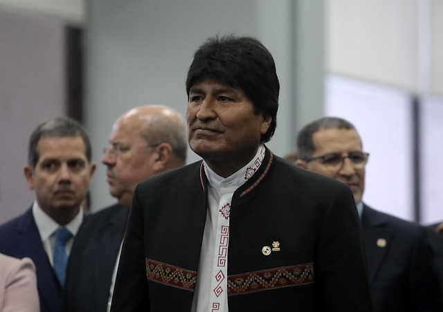 President of Bolivia Evo Morales is seeking a fourth term in office and is the front-runner, according to recent polls - Créditos: Mauricio Valenzuela/AFP