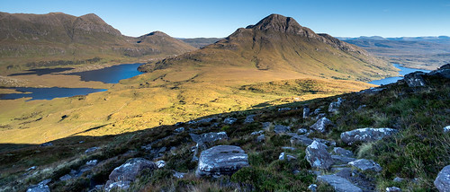 From the shadows of Stac Pollaidh