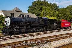 SLSF 1351 | Alco 2-8-2  | Collierville Heritage Railroad Display