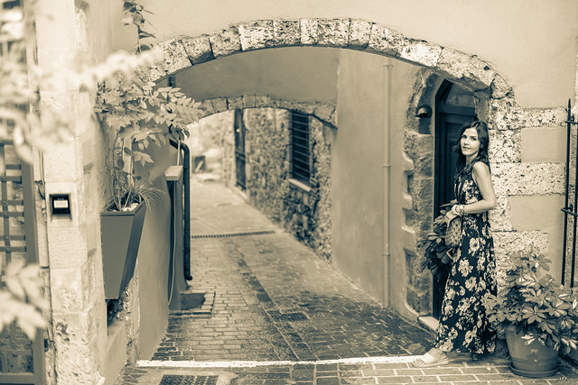 Lost in the alleys of Chania