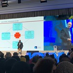 Anders Indset and Paul Moore speaking at ICDM International Directors Summit 2019