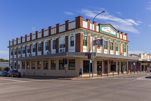 Former United Service Hotel in Cessnock