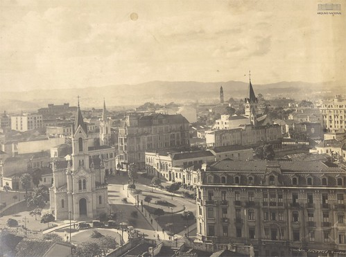 Largo do Paiçandu. Centro de São Paulo (SP), década de 1920