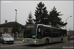 Mercedes-Benz Citaro C2 – Stivo (Société de Transport Interurbaine du Val d'Oise) / STIF (Syndicat des Transports d'Île-de-France) n°909 - Photo of Béthemont-la-Forêt