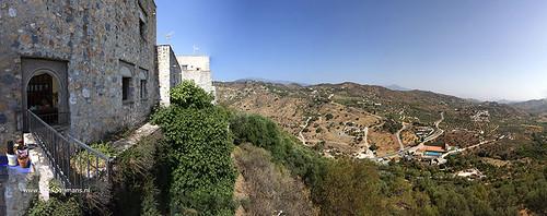 20190628 5040 5061 panorama Uitzicht vanaf Castillo de Monda