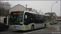 Mercedes-Benz Citaro C2 – Stivo (Société de Transport Interurbaine du Val d'Oise) / STIF (Syndicat des Transports d'Île-de-France) n°907 - Photo of Béthemont-la-Forêt