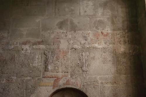 Fragmente im Mauerwerk