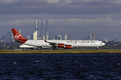 G-VRED VS A340-600 Scarlet Lady 190929 KJFK
