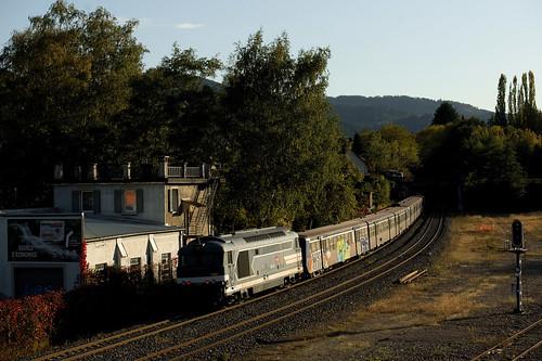 SNCF BB67512 Schirmeck–La Broque 13:10:2019