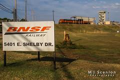 BNSF 1416 | EMD SD60M | BNSF 1577 | EMD SD40-2R | BNSF Tennessee Yard