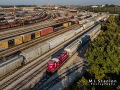 RJCR 9007 | EMD GP9 | BNSF Tennessee Yard