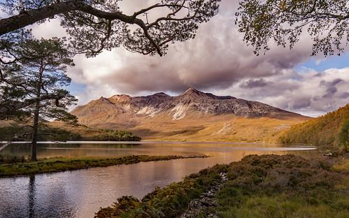 Beinn Eighe from Loch Clair