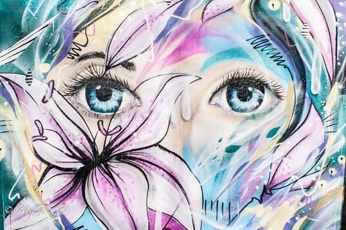 City girl (mural)