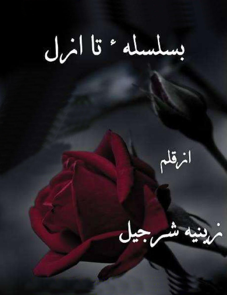 Basilsila e Ta Azal is a very well written complex script novel by Zeenia Sharjeel which depicts normal emotions and behaviour of human like love hate greed power and fear , Zeenia Sharjeel is a very famous and popular specialy among female readers