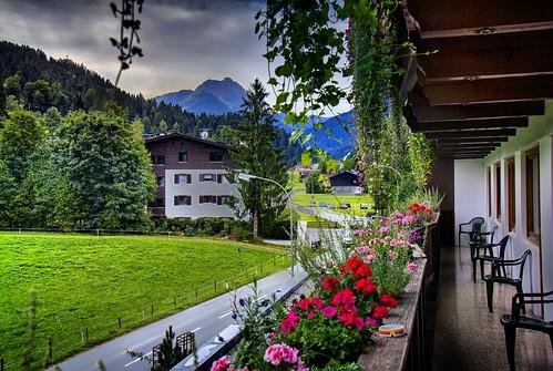 Kirchberg guest house view