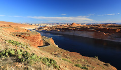 One year ago...Glen canyon sur le lac Powell