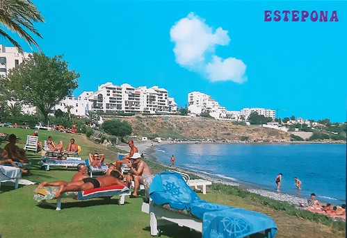 Playa de Seghers, Estepona, Andalusia, Spain