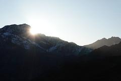 Sunrise @ Col du Joly @ Hike around Tête de la Cicle