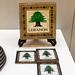 Lebanese - Coasters & Casket/ 黎巴嫩 - 杯墊,飾盒