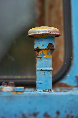 Plaffeien – Blue, yellow and rust
