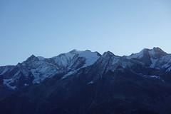 Mont Blanc @ Sunrise @ Col du Joly @ Hike around Tête de la Cicle