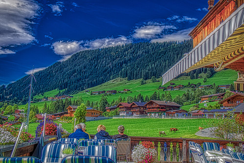 Cafe at Alpbach