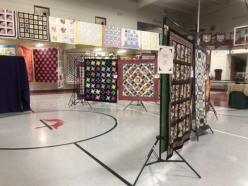 Quilt Display at Rogersville Methodist Church