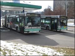 Renault Agora L – TPAS (Transports Publics de l'Agglomération Stéphanoise) (Veolia Transport) / STAS (Société de Transports de l'Agglomération Stéphanoise) n°780 & Renault Agora L – TPAS / STAS n°773