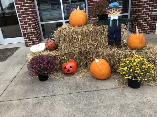 Rogersville Townhall Fall Display