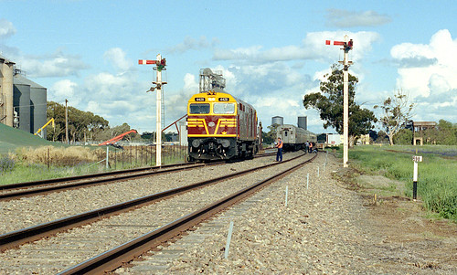 Shunting at Ungarie