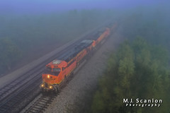 BNSF 5920 | GE ES44AC | BNSF Thayer South Subdivision