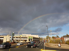 Rainbow over Halifax Shopping Centre