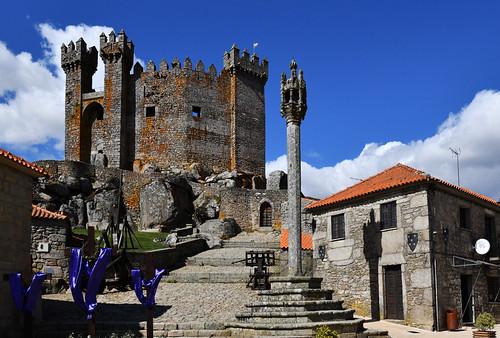 Portugal - Les Beiras - château de Penedono